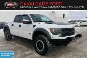 2014 Ford F150 4x4 - Supercrew SVT Raptor