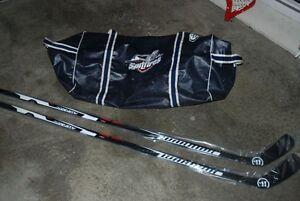 Pro Stock Hockey - Windsor Spitfires Bag and Helmet