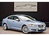 2011 Jaguar XF 3.0 V6 Diesel Premium Luxury * Frost Blue + Ivory + Sunroof*
