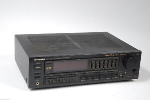 Stereo receiver Pioneer with remote  and manual good condition