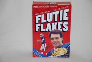 FLUTIE FLAKES (DOUG FLUTIE) LTD. EDITION COLLECTOR CEREAL BOX