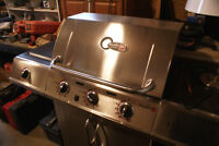Natural Gas Charbroil Gourmet BBQ, As-New