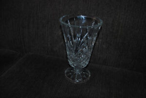 "VINTAGE NEW WO BOX J.G. DURAND 24% LEADED CRYSTAL 8"" VASE FRANCE"