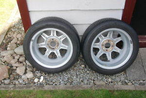 A Pair of  Aluminum Rims