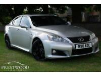 2008 LEXUS IS F 5.0 V8 AUTO [420 BHP] 4 DOOR SALOON - SILVER - BLACK ALLOYS