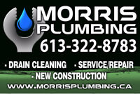 MORRIS PLUMBING FOR ALL YOUR PLUMBING AND DRAIN NEEDS