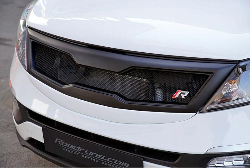 Roadruns Radiator Grille Painted Parts Fit KIA Sportage R 2011 2012 2013 2014 Car & Truck Parts