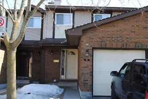 Kanata 3 BR Renovated Townhouse.Excellent Location.1st Sep. Wow!