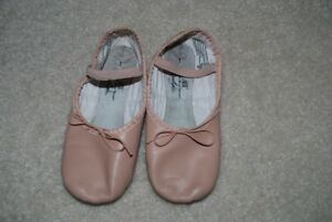 leather ballet shoes size 1