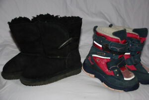 Girl WINTER Boots size 6, toddler