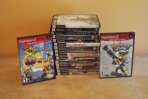 Playstation 2 Games - Priced to sell