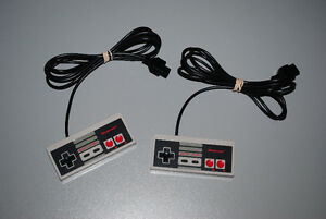 Lot of 2 Official Original Nintendo NES Game Controllers
