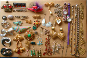 Costume Jewellery Watches Brooches Bracelets Necklaces