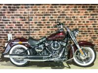 2018 Harley-Davidson SOFTAIL FLDE DELUXE FLDE Vivid Black (19MY) Custom Petrol M
