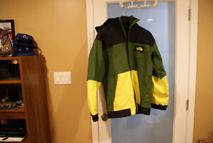 NEW and USED SNOWBOARD COATS! NORTHFACE VOLCOM