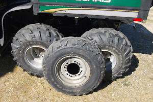 ATV tires/winch