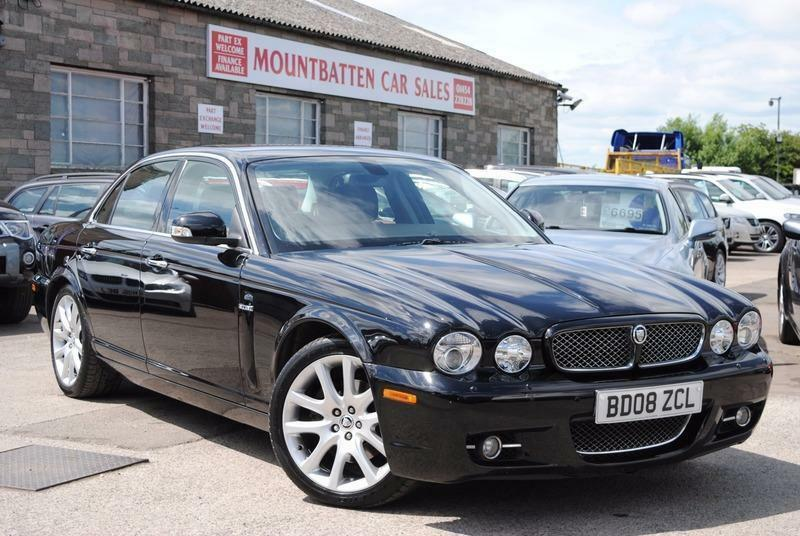 2008 Jaguar XJ 3.0 XJ6 Sovereign 4 Door Saloon Black ...