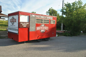 16' x 8' Concession Trailer