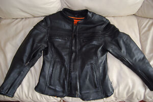 Leather Motorcycle Jacket & CHaps