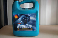 Shell Nautilus outboard motor oil