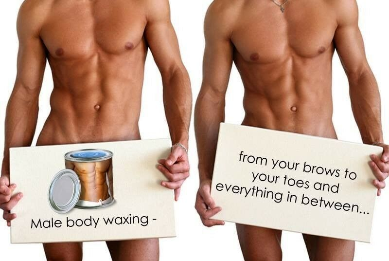 Image result for male waxing