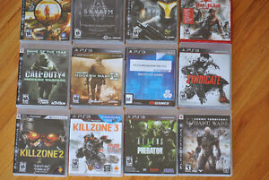 Lot of Playstation games