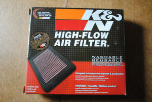 Goldwing 1800  Cee Baileys Windshield and K&N Air Filter