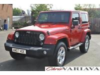 2014 Jeep Wrangler 2.8 CRD Overland 2dr Auto ** THE ICONIC 4X4 ** Diesel red Aut
