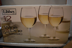 Great Deal on 24 Wine Glasses - Used Once!
