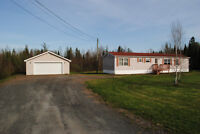 Mini Home with Garage on own 1 acre lot