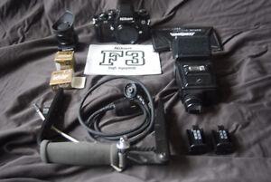 Nikon F 3 Package Kawartha Lakes Peterborough Area image 1