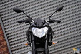 As New Yamaha MT125 Naked MotorBike