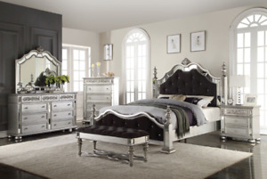 Hayden King  Bedroom set $3300.00 Delivery & Setup Included