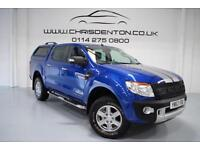 2013/63 FORD RANGER 3.2TDCI 200PS EU5 4X4 DOUBLE CAB LIMITED, FULL FORD HISTORY