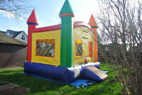Let your kids have fun with a bouncy castle rental.