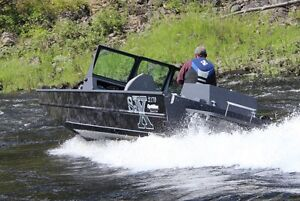 The most amazing shallow water jet boat  The SJX