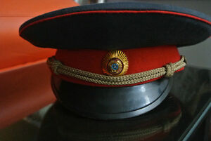 Russian police hat, authentic,