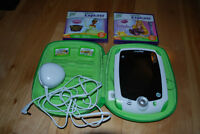 Leap Frog Leap Pad with 4 Games, Case and Charger