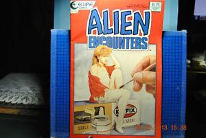 Alien Encounters #10 NM- Eclipse Comics Horror 1986