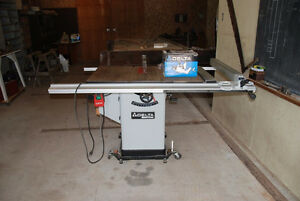 Delta Table Saw and Tenoning Jig