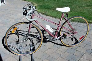 "1970's Bagavond Mixte Frame 27"" Wheels Near Mint  Condition"