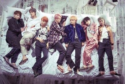 BTS Blood Sweat And Tears Poster