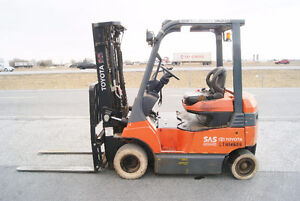 CHARIOT ELEVATEUR,FORKLIFT,ELEC ,S/S, TOYOTA 7FBH20
