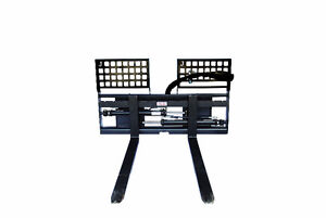 Jenkins HEAVY DUTY Hydraulic Sliding Pallet Forks Attachment Williams Lake Cariboo Area image 2
