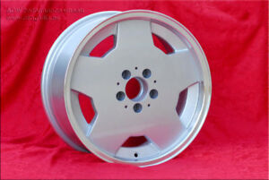 4 pcs. Mercedes AMG Aero wheels 8x17 5x112 ET28 SLK 124