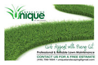 Lawn Maintenance Stouffville, Ballantrae, Claremont, Ashburn,