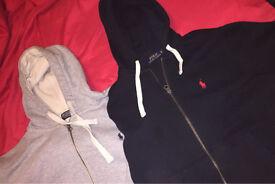 2 Ralph Lauren hoodies