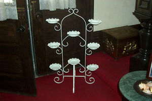 WHITE WROUGHT IRON PLANT STAND London Ontario image 1