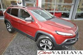 2016 Jeep Cherokee TRAILHAWK ** RARE TRAILHAWK MODEL ** Petrol red Automatic