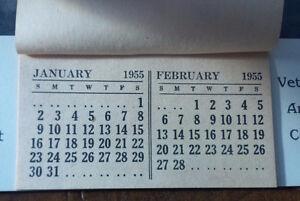 Veterans' Annual Calendar 1955 Prince Charles and Princess Anne Kitchener / Waterloo Kitchener Area image 2